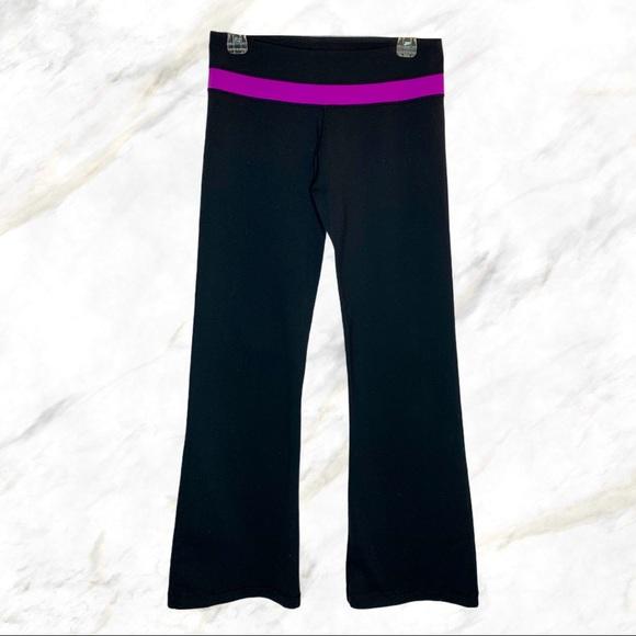 Lululemon   Purple Waistband Groove Pants